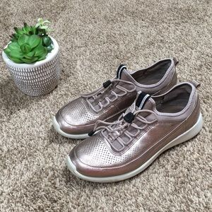 Ecco Metallic Women's Sneakers